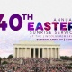 40th Annual Easter Sunrise Service at the Lincoln Memorial