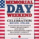 Memorial Day Weekend Celebration