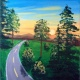 Wine & Canvas Painting Class: Road Trip