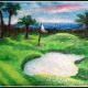 June Family Paint: Dad's Golf Course