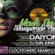Mask On: Hip Hop Masquerade Party ft Daiyon & Las Vegas DJ's
