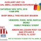 Auxiliary Unit 125 Holiday Small Business Saturday