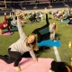 Yoga on the Field presented by Corkcicle