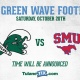 Tulane Football vs. SMU