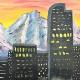 Paint Wine Denver Denver Skyline Tues June 26th 6:30pm $30