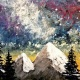 Paint Wine Denver Northern Lights Fri May 25th 6:30pm $35