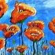 Paint Wine Denver Blue Sky Poppies Mon May 28th 6:30pm $30