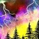 Paint Wine Denver Lightning Strikes Sat May 26th 7pm $40