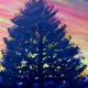 Paint Wine Denver Colorado Sunset Pine Wed June 27th 6:30pm $35