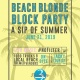 Beach Blonde Block Party at 3 Daughters Brewing