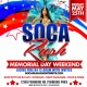SOCA RUSH - MEMORIAL DAY WEEKEND