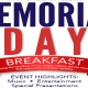 Memorial Day Breakfast 2018