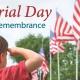 Memorial Day Patriotic Remembrance 2018 at Vista Memorial Gardens