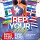 Rep Your Flag Party (Body Paint Edition)!