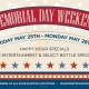 Memorial Day Weekend 2018 - Blue Martini Lounge