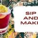 Sip & Make: August Edition