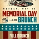 Memorial Day Brunch at a Hammered Lamb