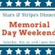 Stars & Stripes Dinner: Memorial Day Weekend Celebration