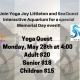 Yoga Quest Memorial Day Event with Christina Pischel