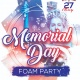 Memorial Day Foam Party at Club Prana