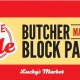 Memorial Day Butcher Block Party