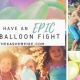 Memorial Day MEGA Water Balloon Fight