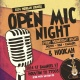 Open Mic Poetry, Comedy And Hookah