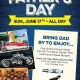 Bring Dad to his Favorite Place on Father's Day!