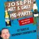 Joseph: M&G Pre-Party