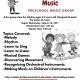 Preschool Music Class