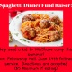 Spaghetti Dinner Fund Raiser