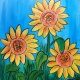 You Are an Artist! Sip n Paint Sunflowers at Studios of Cocoa Beach