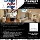 Design, Wine & Align Event