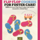 Panera Bread Flip Flop Cookies for Foster Care!