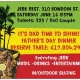Boston Father's Day Caribbean POP UP Dinner