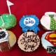 Father's Day Cupcake Decorating
