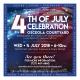 4th of July Celebration at the Osceola Courtyard