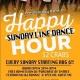 Sunday Line Dance Happy Hour