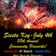 Annual Siesta Key Community Fireworks