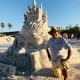Annual American Sandsculpting Championship in Fort Myers