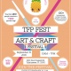 TFP FEST 2018 The Fuzzy Pineapple Craft and Art Festival