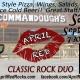 April Red is BACK to ROCK Commandoughs In Zephyrhills!