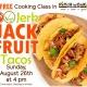Free cooking class: Jerk Jackfruit Tacos