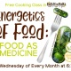 Free cooking class: Energetics Of Food - Food As A Medicine