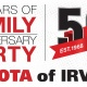Toyota of Irving's 50th Anniversary Party