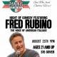 Fred Rubino Comedy Night