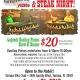 Dueling Pianos Show & Steak Dinner