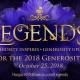 Legends: The Hospice of St. Francis Generosity Awards 2018