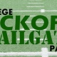 College Kickoff Tailgate Party