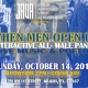 WHEN MEN OPEN UP- All Male Panel.Poetry.Live Music